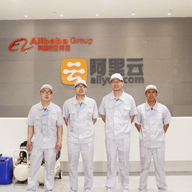 友兰科技为北京阿里巴巴提供空气治理服务